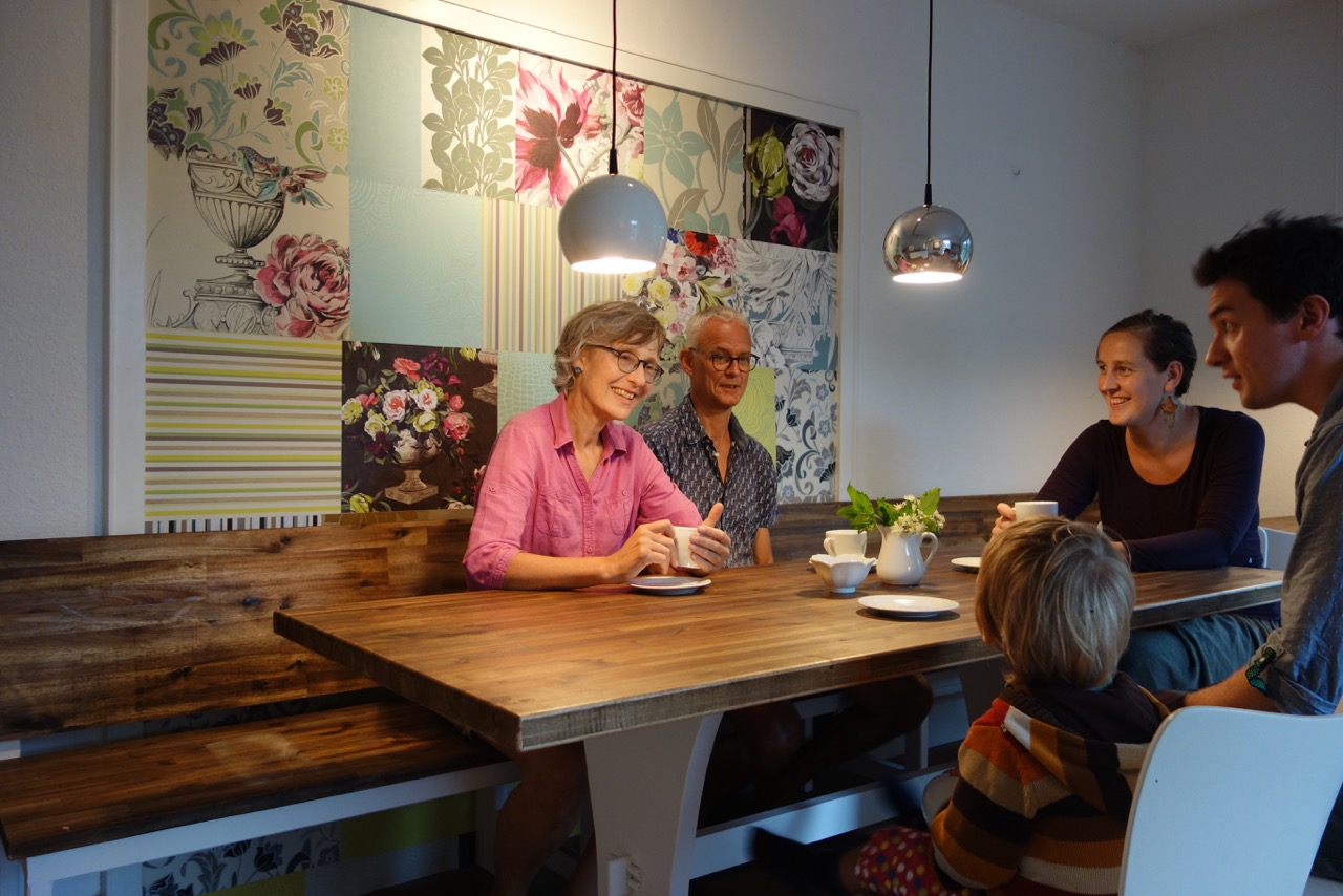 Das Café Team im Café